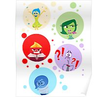Inside Out characters Poster