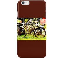 Old Bike iPhone Case/Skin