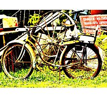 Old Bike Photographic Print