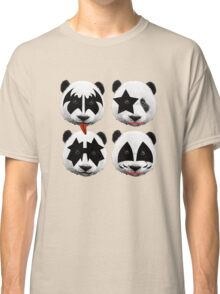 panda kiss  Classic T-Shirt