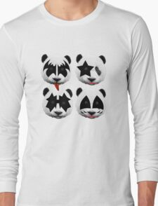 panda kiss  Long Sleeve T-Shirt