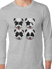 panda kiss  Long Sleeve T-Shirt