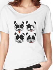 panda kiss  Women's Relaxed Fit T-Shirt