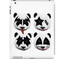 panda kiss  iPad Case/Skin