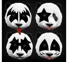 panda kiss  Photographic Print