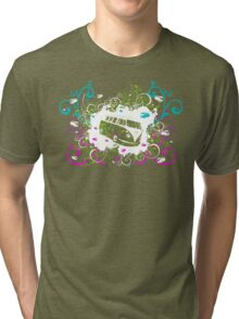 Splitty Swirl Tri-blend T-Shirt