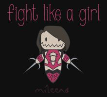 Fight Like a Girl - Mortal Kombat's Mileena Kids Clothes