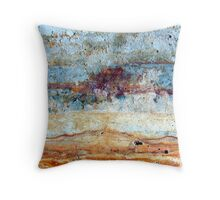 Storm over the Nullarbor Throw Pillow