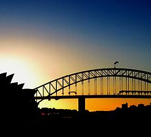 Sydney Sunset by Sarah Howarth [ Photography ]