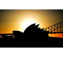 Sunset Opera Photographic Print