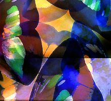 Butterfly-Wing Abstraction in Rainbow Colors #1 – April 5, 2010   by Ivana Redwine