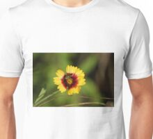 Bee on Red n Yellow flower Unisex T-Shirt