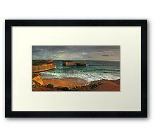 Great Ocean Road: London Bridge Framed Print