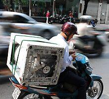 SaigonTraffic by John Marx