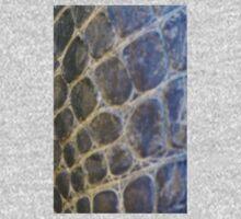 Alligator skin iPhone case One Piece - Short Sleeve