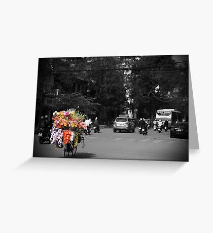 FlowerPower Greeting Card