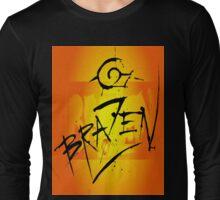 Brazen Sun T-Shirt Design Long Sleeve T-Shirt
