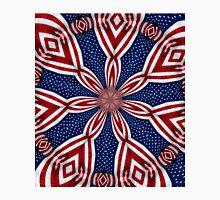 American Flag Kaleidoscope 1 Unisex T-Shirt
