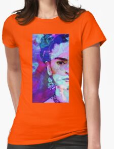 Dreaming Of Frida - Art By Sharon Cummings Womens Fitted T-Shirt