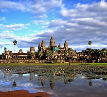 Daytime at Angkor Wat by KittySolntseva