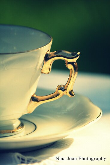 'Adeline'  - Tea Cup by NinaJoan