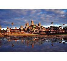 Sunset at Angkor Wat Photographic Print