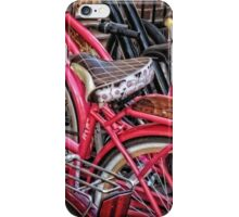 Twins - Bicycle Art By Sharon Cummings iPhone Case/Skin