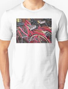 Twins - Bicycle Art By Sharon Cummings Unisex T-Shirt
