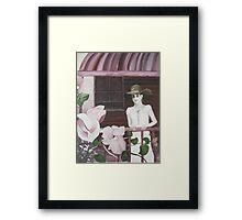 Bougainvillea Charm Framed Print