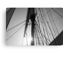 MAST and RIGGING Canvas Print