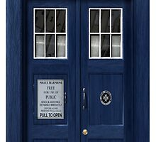 The Tardis by neon-bullets