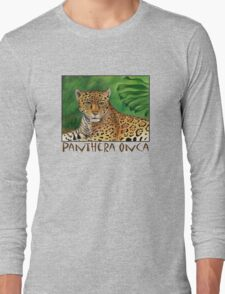 Jaguar (Panthera onca) Long Sleeve T-Shirt