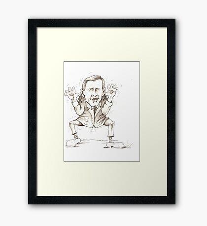 George W's Shoe Dango Framed Print