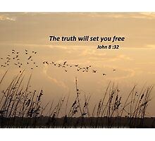 Freedom in Truth Photographic Print