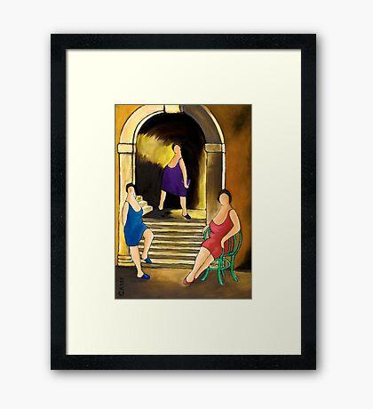 SLICE OF LIFE #2 Framed Print