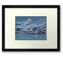 Glacier Bay, Juneau, ALASKA,  Framed Print