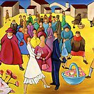 WEDDING IN PLAZA by artistcain