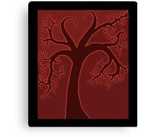 Whimsical Tree Full of Love Canvas Print