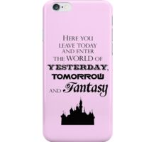Here You Leave Today... (2) iPhone Case/Skin