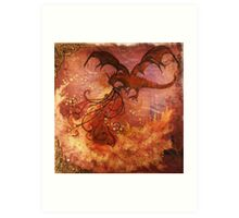 Smaug The Magnificent Art Print