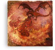 Smaug The Magnificent Canvas Print