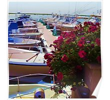 Boats and Yachts Poster