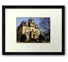 Mansion Hill Framed Print