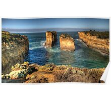Six Degrees of Separation #3- Loch Ard Gorge - Great Ocean Road - The HDR Experience Poster