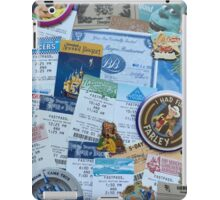 Disneyland Memorabilia  iPad Case/Skin