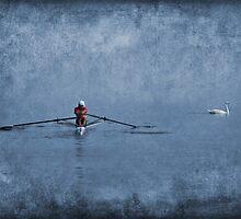Blue Lake by Ann  Van Breemen