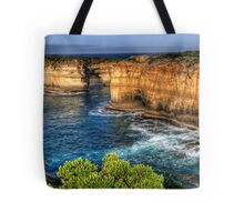 Weathered By Time - Great Ocean Road , Victoria , Australia - The HDR Experience Tote Bag