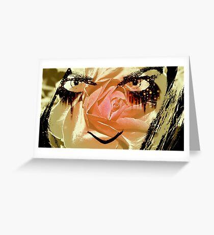Bitter Rose Greeting Card