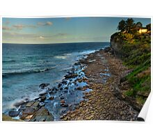 It Rocks (Panoramic) - Avalon, Sydney - The HDR Experience Poster