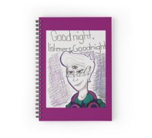 Welcome to Night Vale Cecil Spiral Notebook